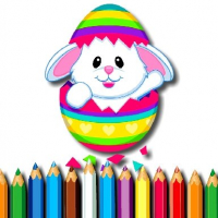 Easter Fun Coloring Book