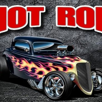 Hot Rod Jigsaw Puzzle