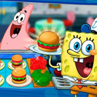 SpongeBob Cook : Restaurant Management & Food Game