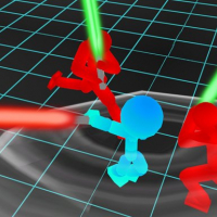 Stickman Neon Warriors: Sword Fighting