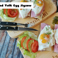 Bread Yolk Egg Jigsaw