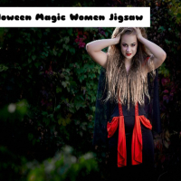 Halloween Magic Women Jigsaw