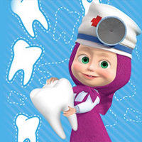 Masha Happy Dentist