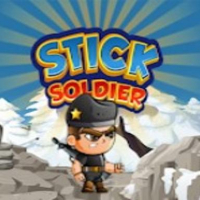 Stick soldier hero